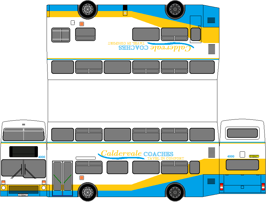 Caldervale Fictional Buses Caldervale Bus Company
